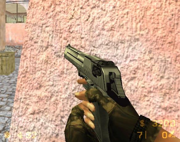 Модель deagle в сборке CS 1.6 HD