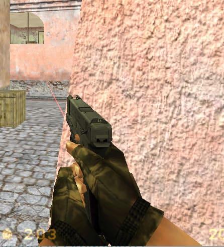 Модель glock в сборке CS 1.6 HD